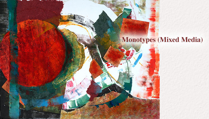 Monotypes (Mixed Media) - Estelle Laschever